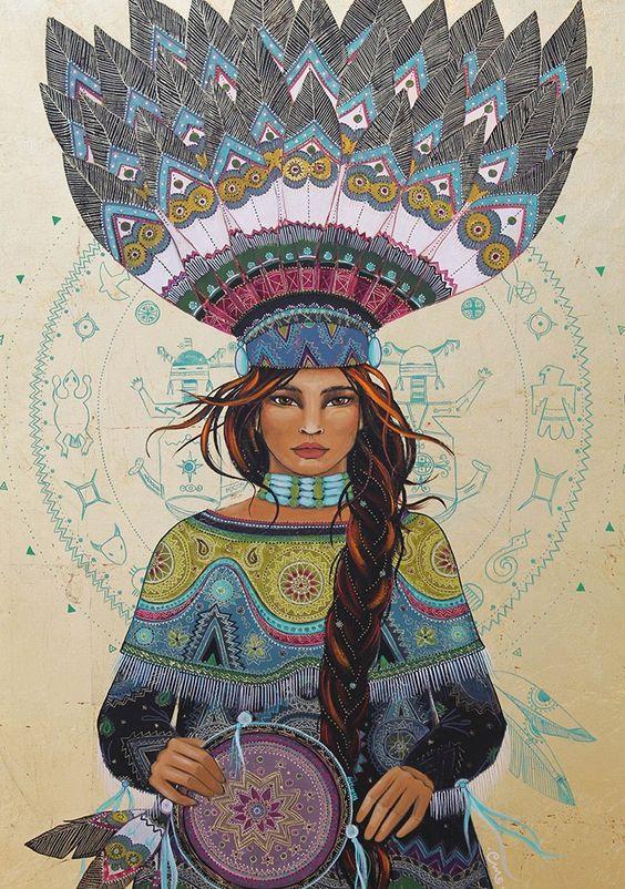 femme-shamane